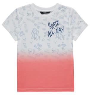 Skate All Day Dip Dye T-Shirt