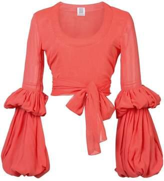 Rosie Assoulin Juliet sleeve blouse