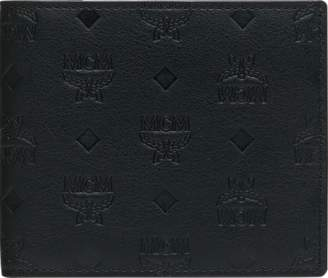 MCM Bifold Wallet In Monogram Leather