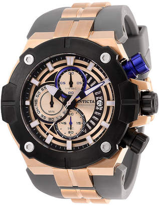 Invicta Sea Hunter Mens Chronograph Two Tone Stainless Steel Strap Watch-28052