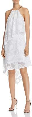 Laundry by Shelli Segal Tiered Floral Dress