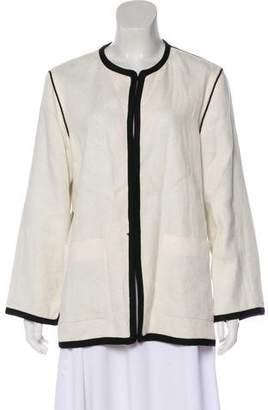 Etro Reversible Linen Jacket