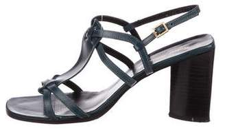 Clergerie Leather Multistrap Sandals