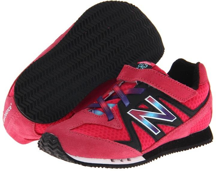New Balance Kids - KV542 (Infant/Toddler) (Pink/Rainbow) - Footwear