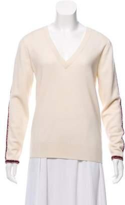 Chloé Wool V-Neck Sweater