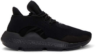 Y-3 Black Saikou Boost Sneakers