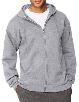 Hanes Men's Ultimate Cotton Heavyweight Fleece Full Zip Hood