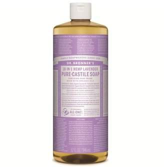 Dr Bronner Dr. Bronner's Organic Lavender Castile Liquid Soap 946ml - No Colour