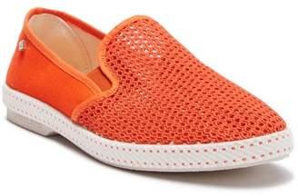 Rivieras LEISURE SHOES Classic 20 Degree Orange Slip-On Shoe