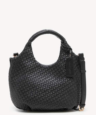 Sole Society Women's Ady Small Satchel Faux Leather In Color: Black Bag From