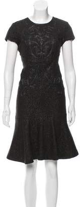 Marchesa Voyage Sleeveless Knee-Length Dress