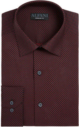 Alfani Assorted AlfaTech by Men's Classic/Regular Fit Performance Print Dress Shirts