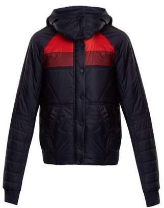 Lndr - Winter Breaker Quilted Performance Jacket - Womens - Navy Multi