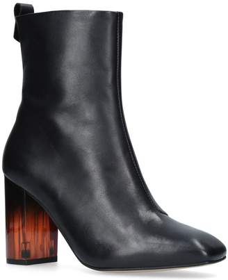 Kurt Geiger London Leather Strut Calf Boots