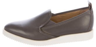Everlane Slip-On Pointed-Toe Sneakers $65 thestylecure.com