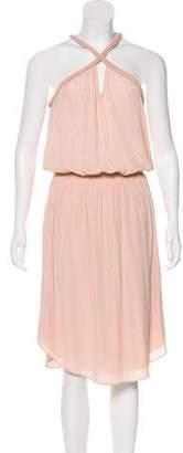 Ramy Brook Pleated Midi Dress