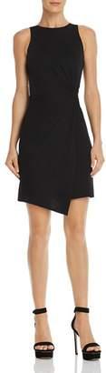 Aqua Twist-Front Body-Con Dress - 100% Exclusive