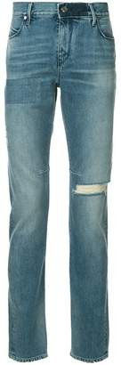 RtA slash knee slim-fit jeans