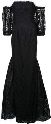 Zac Posen Lexi off-shoulder gown