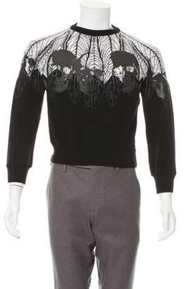 Philipp Plein Graphic Knit Sweatshirt
