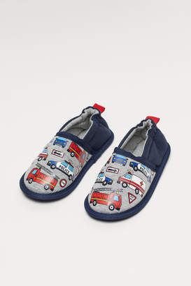 H&M Slippers with Motif - Gray