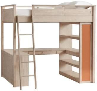 Pottery Barn Teen Sleep + Study Loft