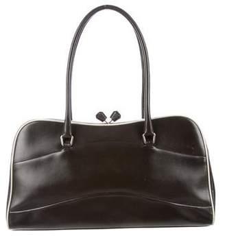 Prada Vitello Mini Bowler Bag