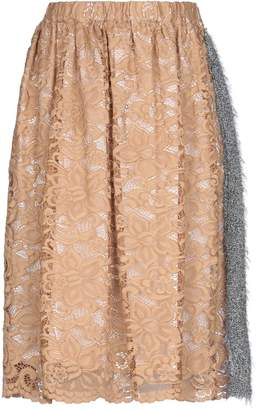 Annie P. Knee length skirts