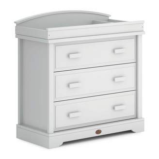 Boori 3 Drawer Dresser (with Arched Changing Station) Wood