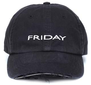 Vetements Friday cotton cap