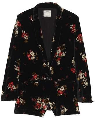 Forte Forte Printed Velvet Jacket