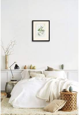 Gracie Oaks 'Parsley and Sage' Framed Graphic Art Print