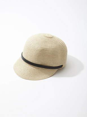 CECIL McBEE (セシル マクビー) - CECIL McBEE ベルト付きペーパーキャップ セシルマクビー 帽子/ヘア小物