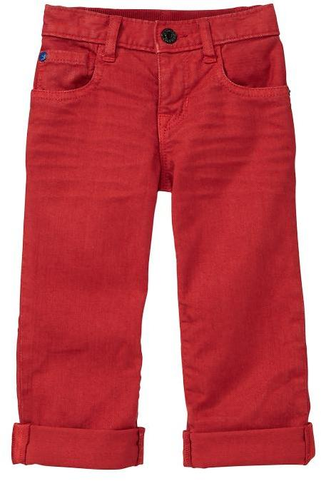 Gap Colored straight jeans