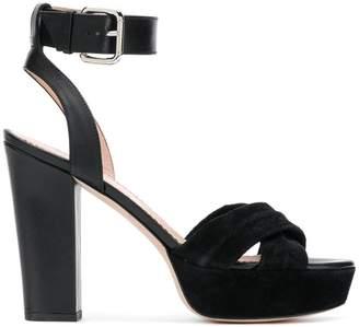 RED Valentino platform sandals