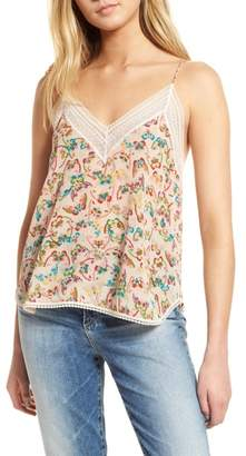 Zadig & Voltaire Christy Butterfly Silk Camisole