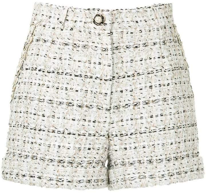 Edward Achour Paris Kurze Tweed-Shorts