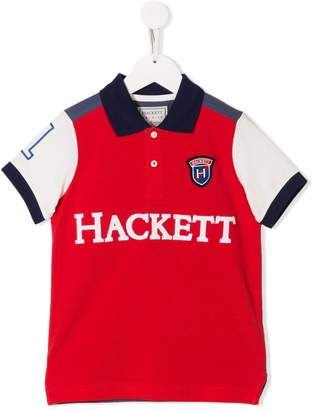Hackett Kids embroidered polo top
