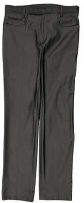 Miu Miu Flat Front Dress Pants