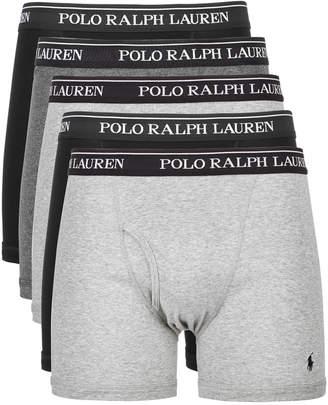 Polo Ralph Lauren Men 5-Pk. Cotton Classic Boxer Briefs