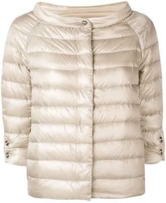 Herno short cropped sleeve jacket
