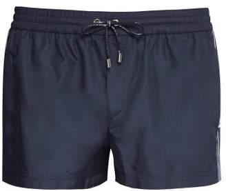 Dolce & Gabbana Side Stripe Swim Shorts - Mens - Navy