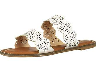 31c24da6cc809 XOXO White Women's Sandals - ShopStyle