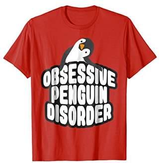 Original Penguin Lover Tshirt Obsessive Disorder Tee