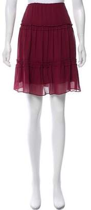 Derek Lam Knee-Length Silk Skirt
