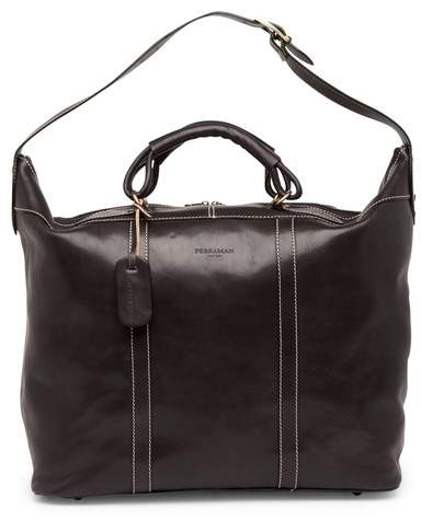 Persaman New York Marco Leather Tote