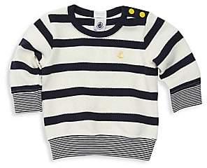 Petit Bateau Baby Boy's Bastia Striped Cotton Knit Top