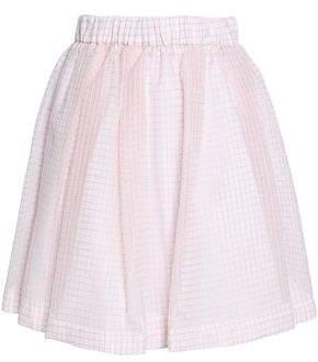 MSGM Jacquard Cotton-Blend Skirt