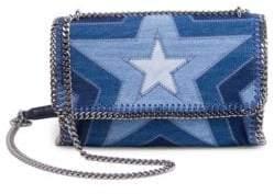 Stella McCartney Star Denim Shoulder Bag