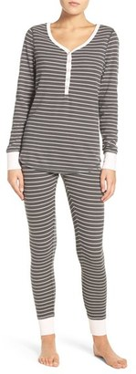 Women's Nordstrom Lingerie Sleepyhead Thermal Pajamas $49 thestylecure.com
